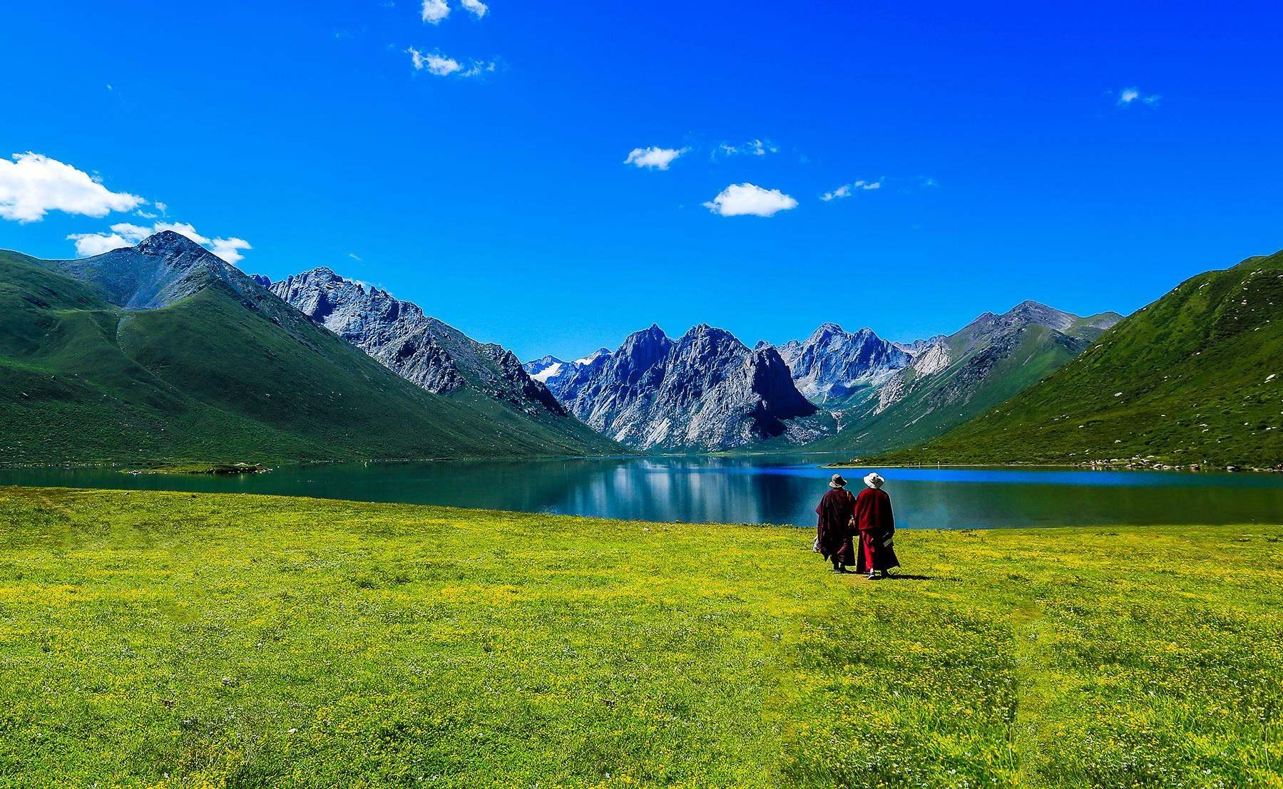 年宝玉则最美花季徒步穿越 仙女湖 妖女湖 上下日干措 天神的后花园6日活动