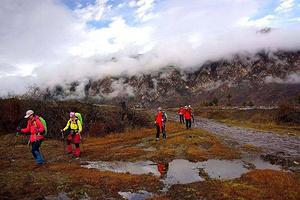 毗邻黄龙的人间仙境,七藏沟徒步穿越5日