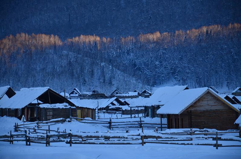 冬日牧歌,你的童话,我在喀纳斯等你看雪