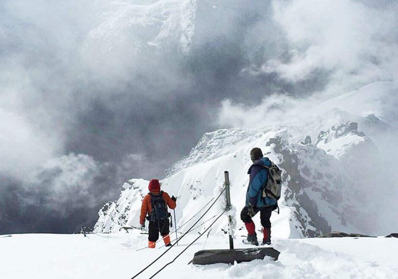 海拔5454米的邂逅,四姑娘山二姑娘