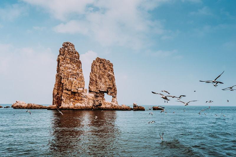 行摄美丽万鸟岛、九丈崖,拍片儿吃海鲜