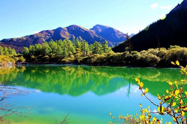 行摄稻城亚丁然乌湖鲁朗林海,摄影线川藏自由行