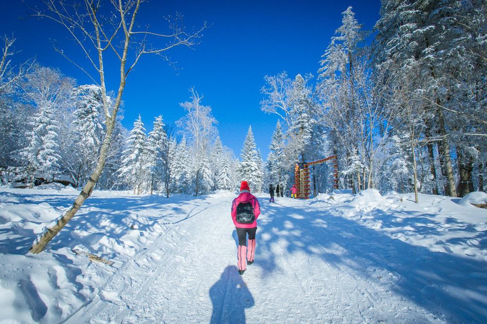 亚布力吉林双次滑雪,雪乡林海雪原穿越,行摄长白山魔界雾凇岛