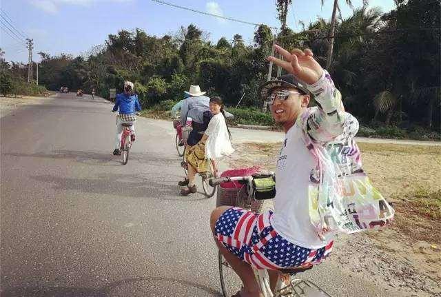海岛,椰林,博鳌天堂小镇,环岛欢乐骑行