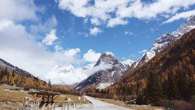 和美色达冬游川西,四姑娘山、鹧鸪山、古尔沟行摄之旅