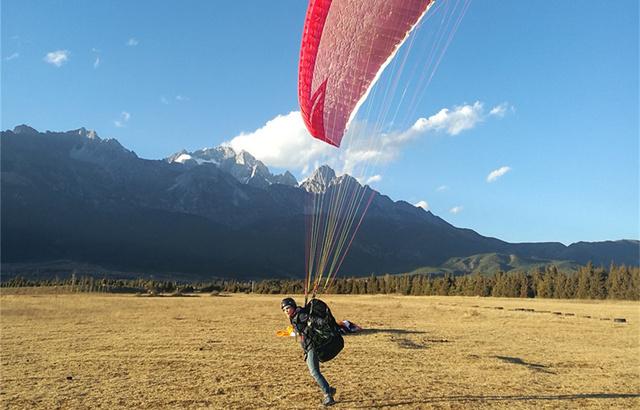 中级风之翼滑翔伞课程