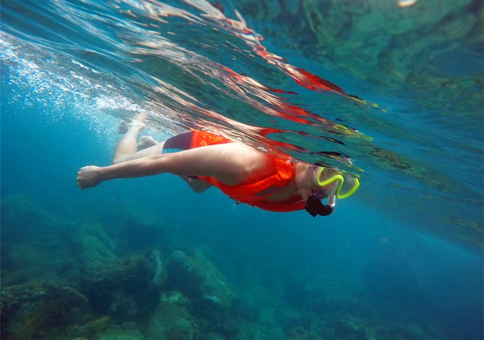 海南浮潜,寻找那些美好的小海湾