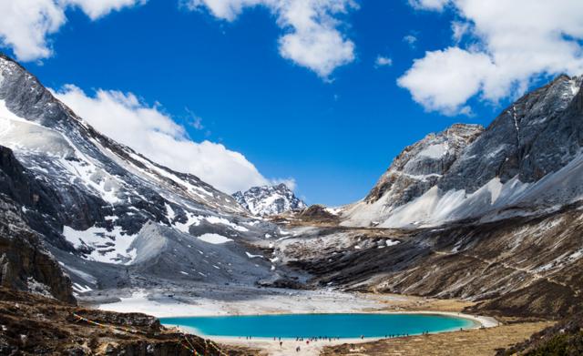 行摄米堆冰川然乌湖蓝色净土亚丁,深入藏区腹地,只为千百度的寻觅