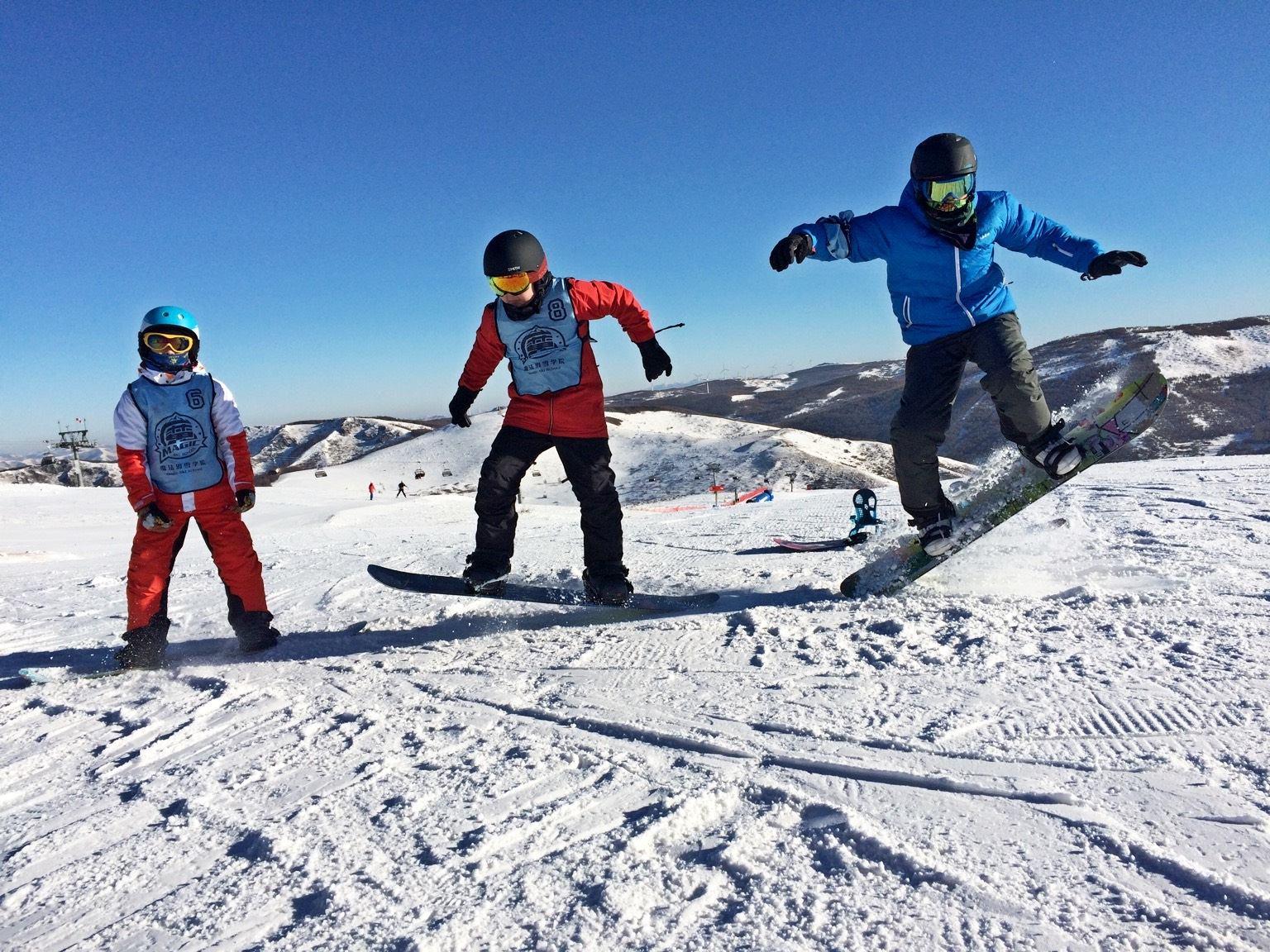 国内最顶级滑雪冬令营