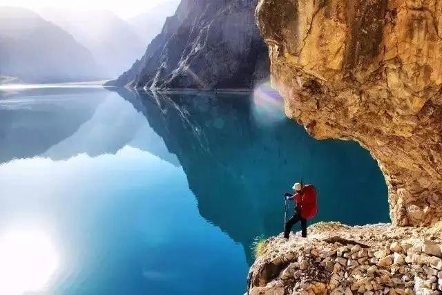 最美天堂湖之乌孙古道穿越