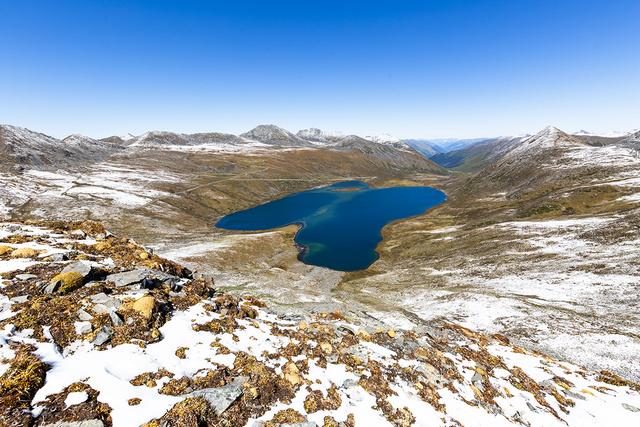 莫斯卡金川情人海12湖深度穿越, 尽情享受天人合一的秘境