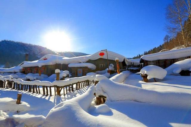 林海雪原徒步,赏柔美雪乡,行摄浪漫雾凇岛