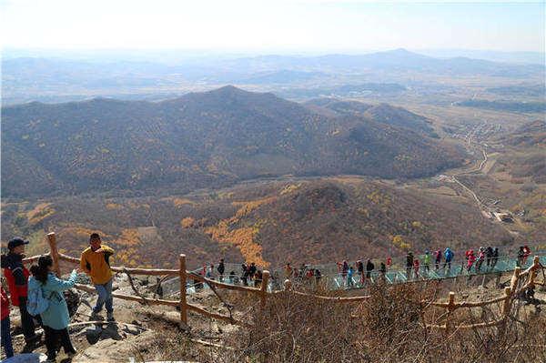 徒步帽儿山,体验全国最长的玻璃栈道