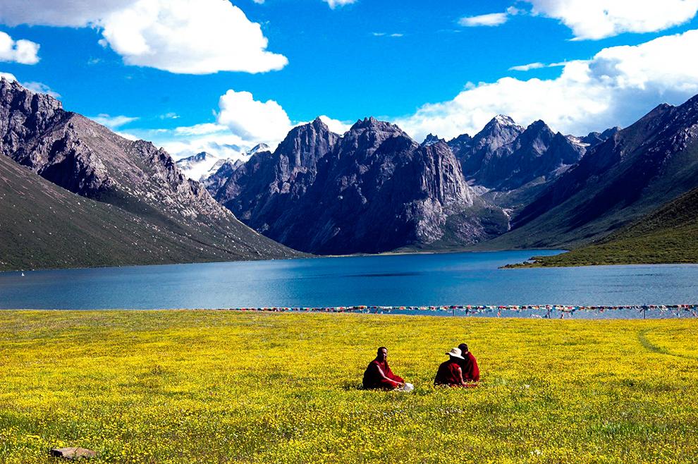 年保玉则花湖黄龙行摄之旅,续一场花事奇缘