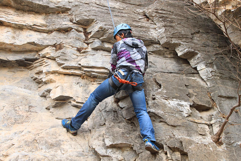 勇敢蜘蛛侠,亲子野攀 户外攀岩知识学习