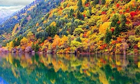 黑水县彩林,多彩奶子沟——休闲红叶两日游
