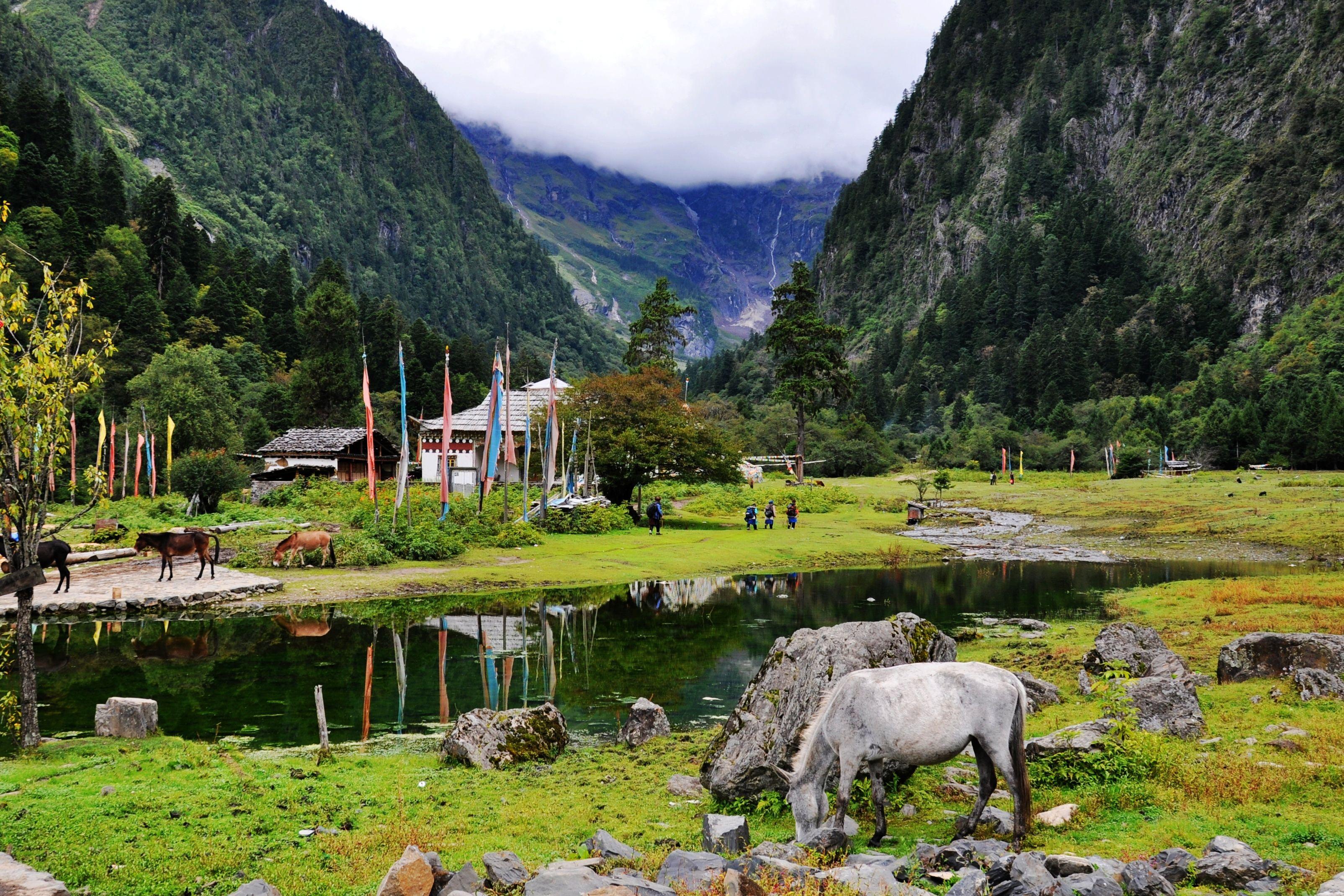 行摄雨崩稻城亚丁梅里雪山,滇藏川三地大环线之旅
