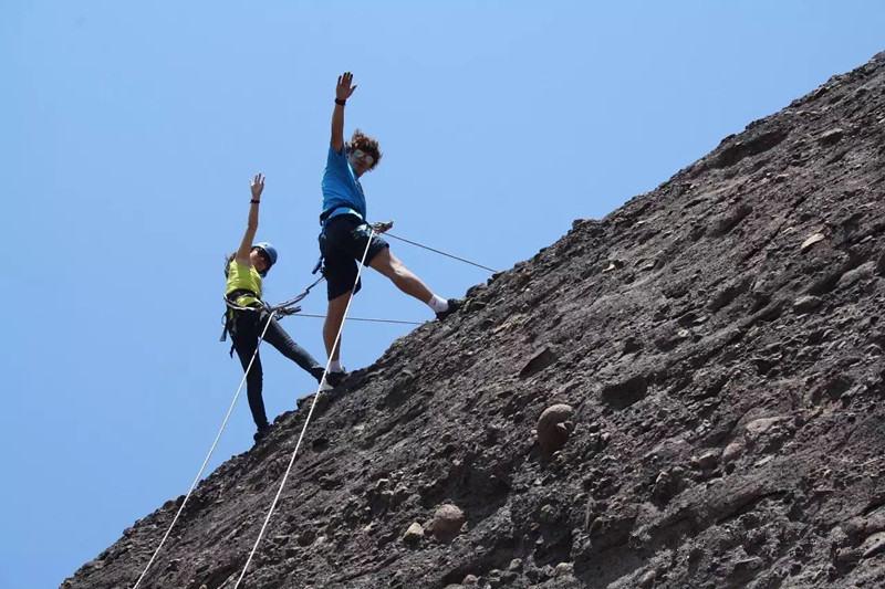 野攀中级体验,更上一层楼
