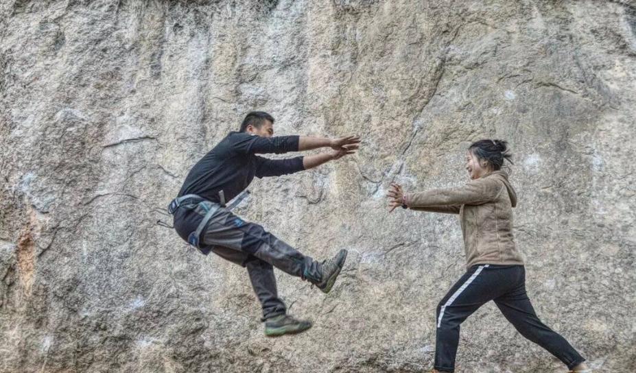 鹤鸣山攀岩21期(迦南探险)