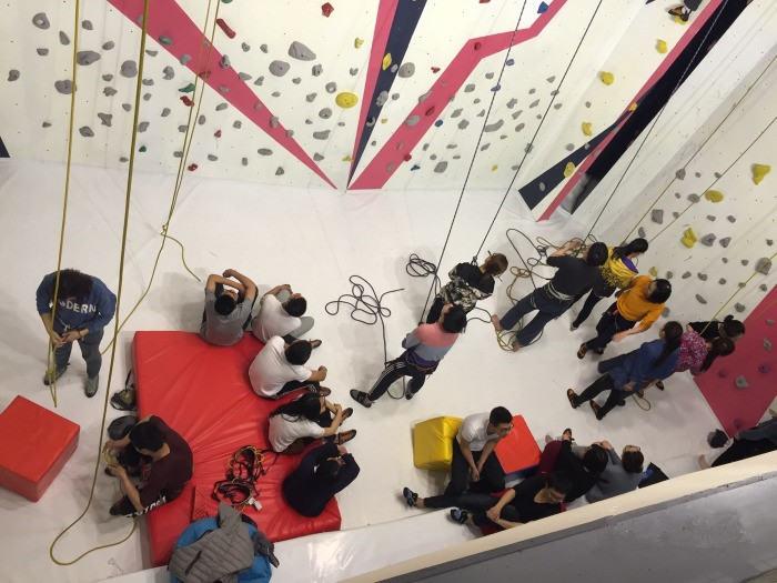 ET攀岩馆,给你不一样的攀岩体验