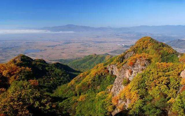 看层林尽染 | 红叶谷+拉法山