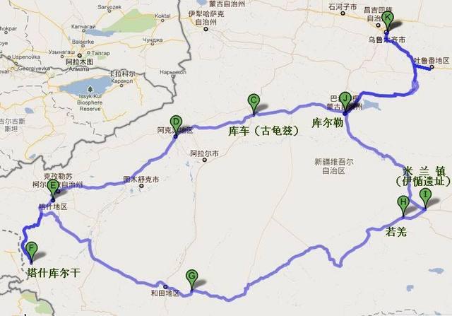 新疆,就等于环游了世界,另附线路推荐  如果北疆是秀美柔和,那么南疆图片