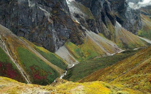 珠峰东坡嘎玛沟