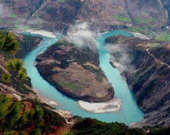 云南怒江风景图片