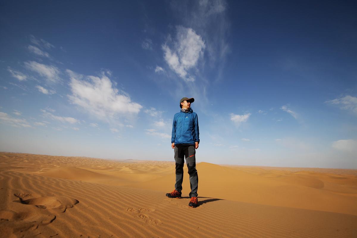 你是锦瑟 我为流年-五一腾格里沙漠通古淖尔湖