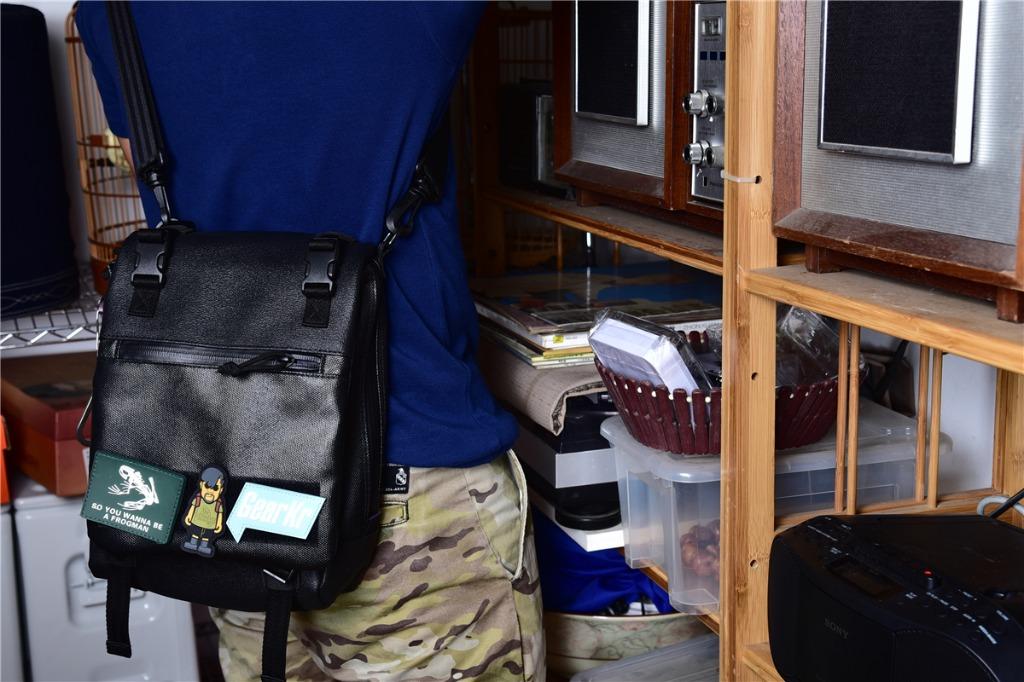 夏日EDC包的选择——MAGFORCE麦格霍斯梅卡瓦坦克战术单肩包