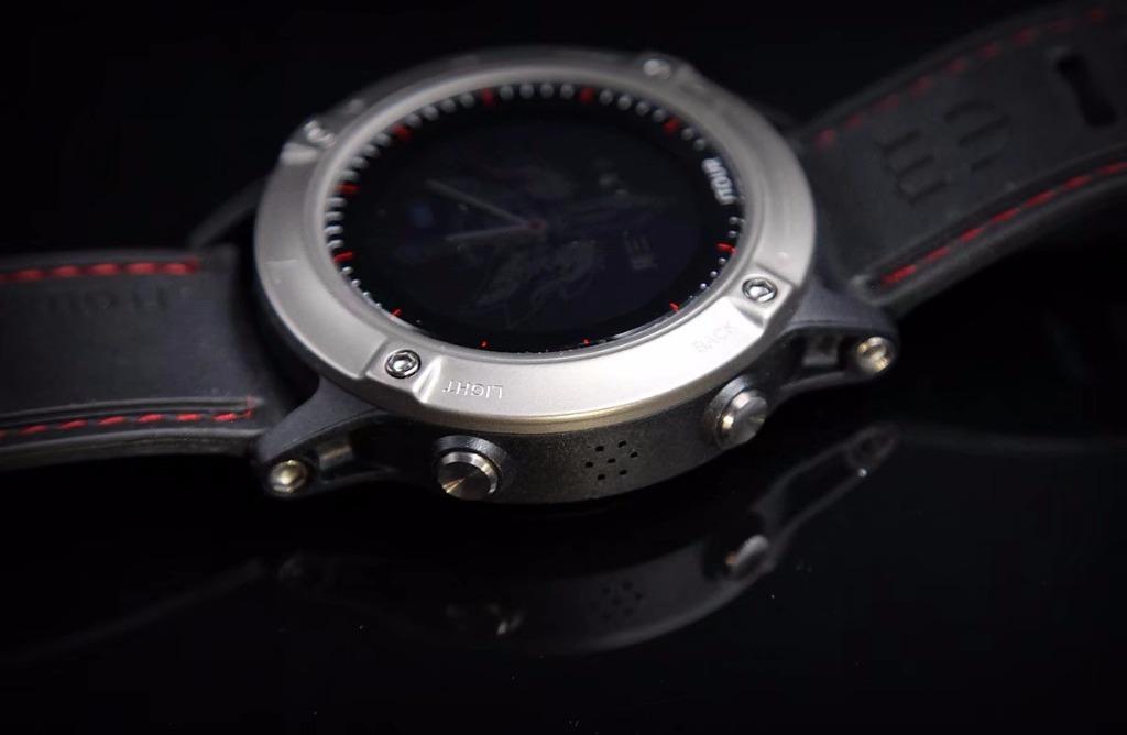 专为中国人设计的智能手表—军拓《战狼2》联名纪念款