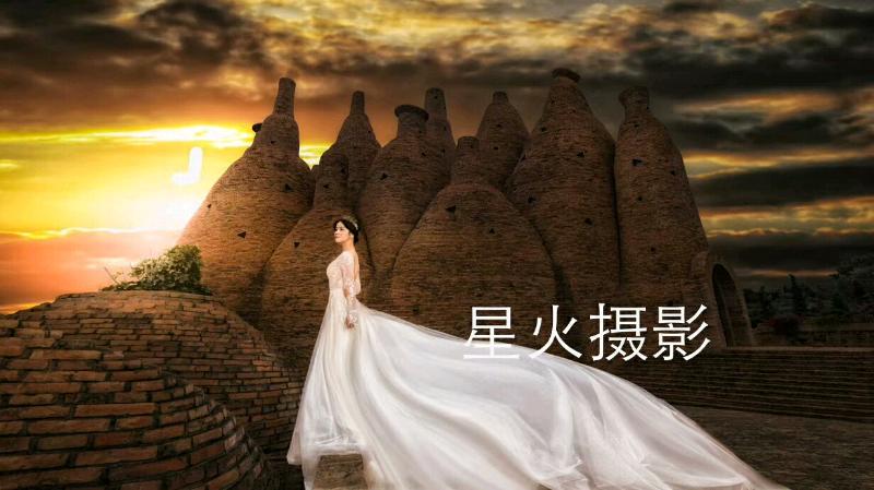 弥勒照婚纱风景点