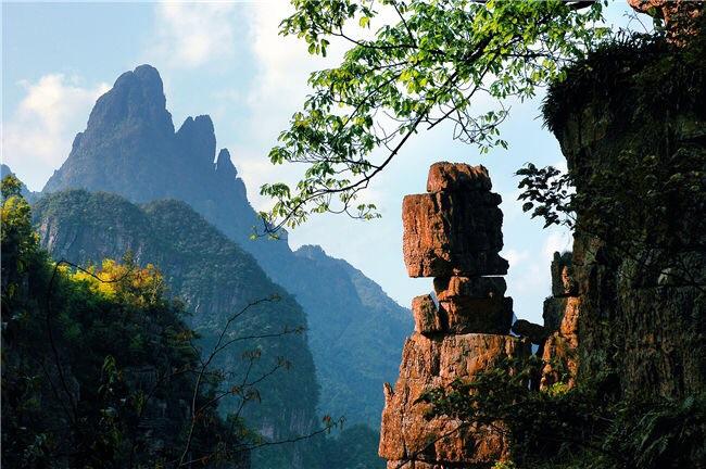广西平南县啊婆山旅游风景区
