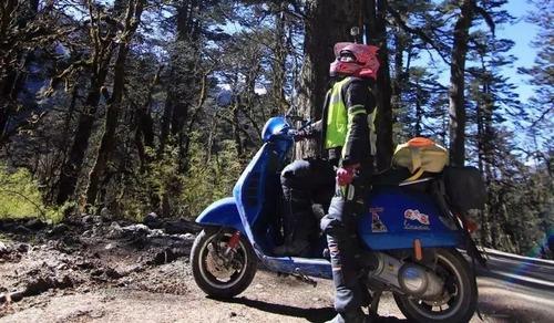 骑着vespa,我穿越了全国排第5的西藏原始森林