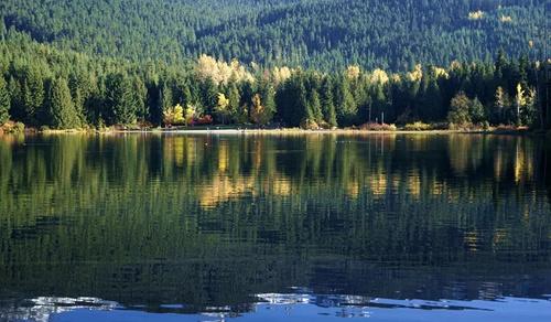 加拿大 Lost Lake:美好就是一次最心甘情愿的迷失