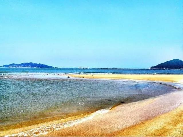 海上浮滩——鱼骨沙洲