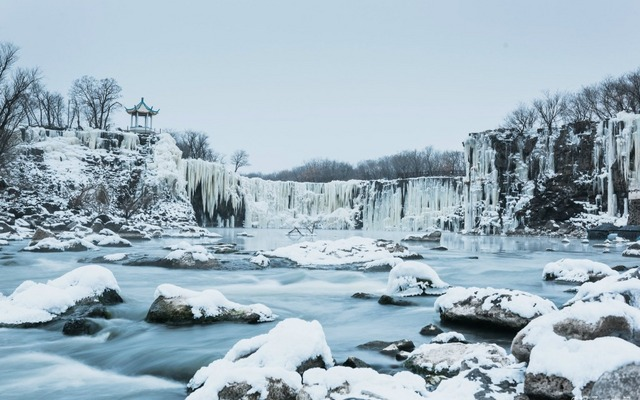 M记 | 无声的震撼!国内最值得去的9大冰瀑