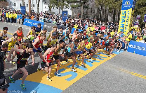 每个跑马拉松的人,心中都有一个波士顿梦