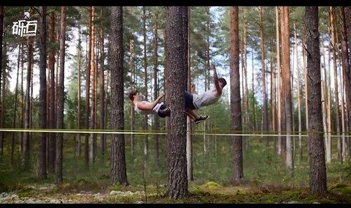 森林的野兽:花样玩扁带