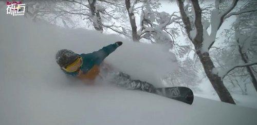 穿梭森林:北纬41°的雪板魔法