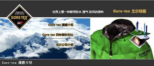 GORE-TEX有四种面料,这四种对比你知道不!