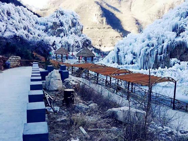 【1.26】1月26日 冰川倒挂玉柱擎——龙居冰瀑一日休闲摄影