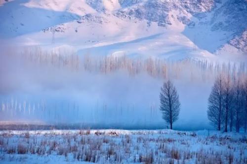 新疆有一片不为人知的隐世雪景,它比喀纳斯更让人心醉、人更少...