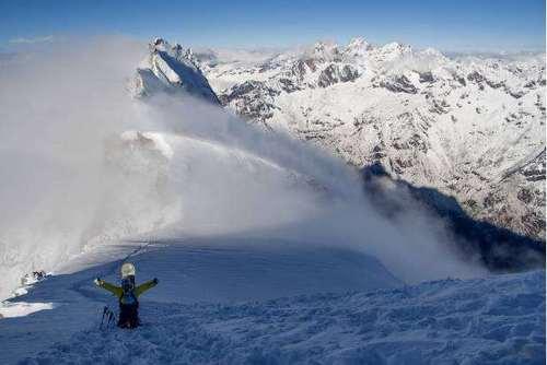 半脊峰——雪山的进阶之路,技术型雪山的完美体验